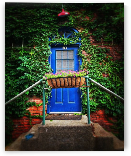 the Blue Door by John Christopher Photography