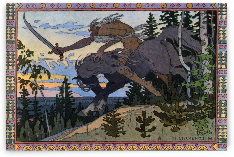 Something s Out There by Ivan Bilibin