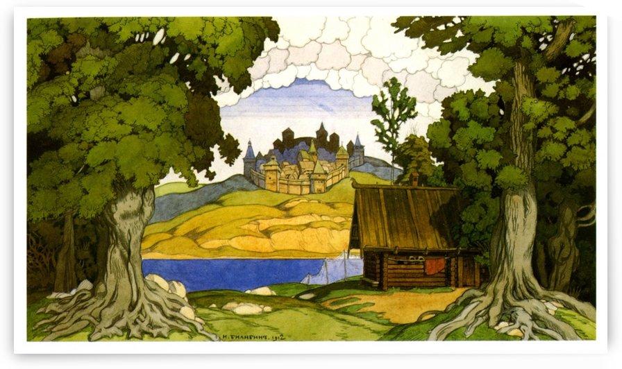 The Castle by Ivan Bilibin