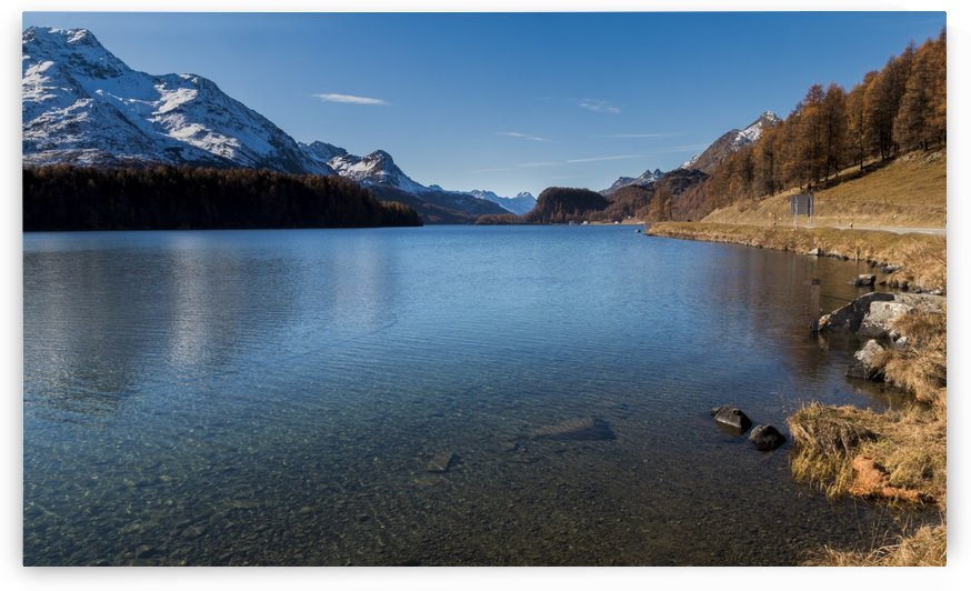 Lake of Sils by Pietro Ebner