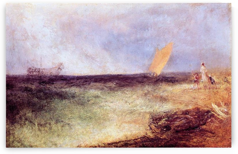Outside of Ramsgate by Joseph Mallord Turner by Joseph Mallord Turner