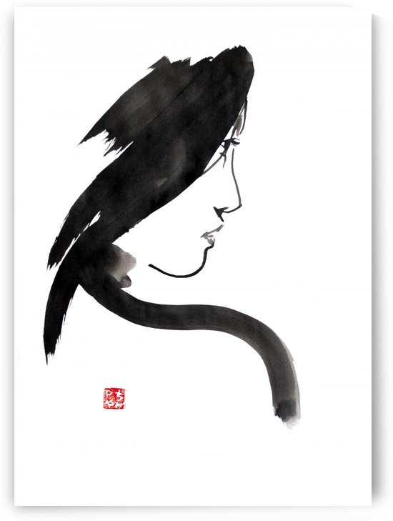 geisha profil by pechane