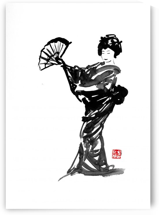 geisha 06 by pechane
