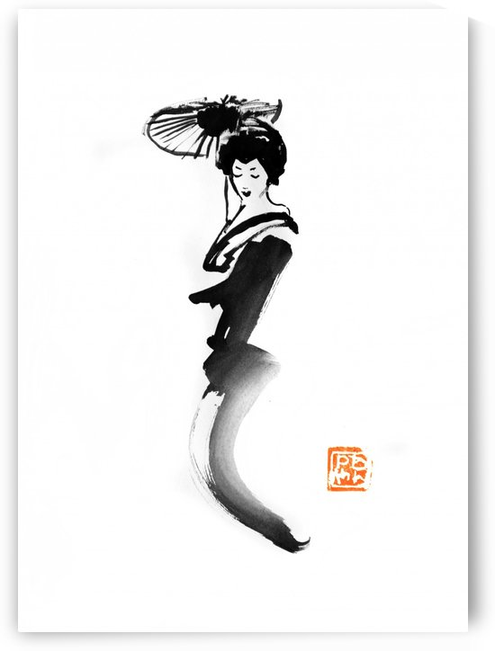 geisha fly by pechane