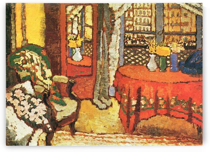 Paris Interior by Joseph Rippl-Ronai by Joseph Rippl-Ronai