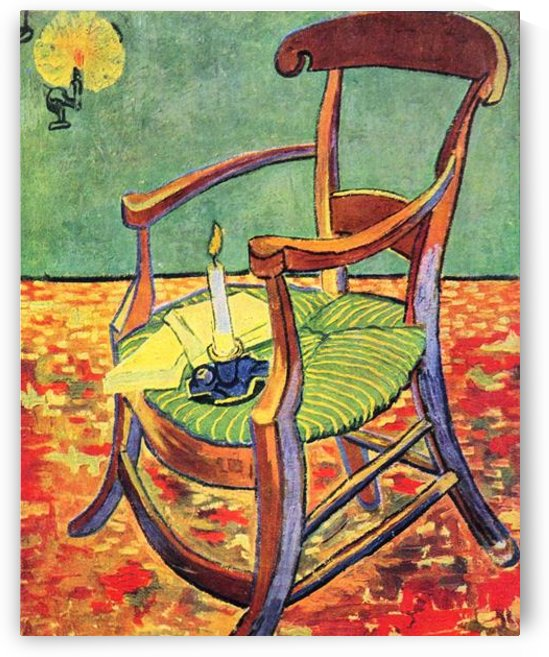 Paul Gauguins chair by Van Gogh by Van Gogh