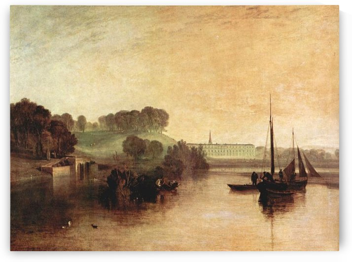 Penworth Sussex by Joseph Mallord Turner by Joseph Mallord Turner