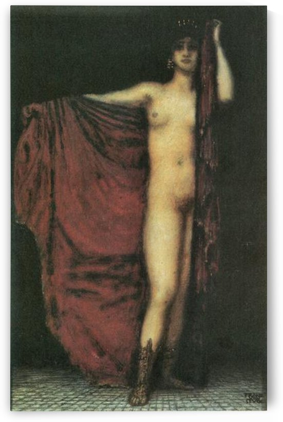 Phyrne by Franz von Stuck by Franz von Stuck