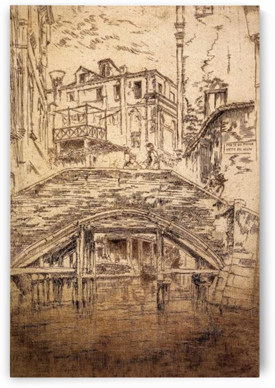 Ponte del Piovan by Whistler by Whistler