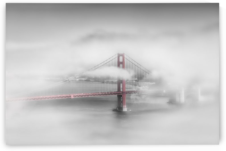 Foggy Golden Gate Bridge | colorkey by Melanie Viola