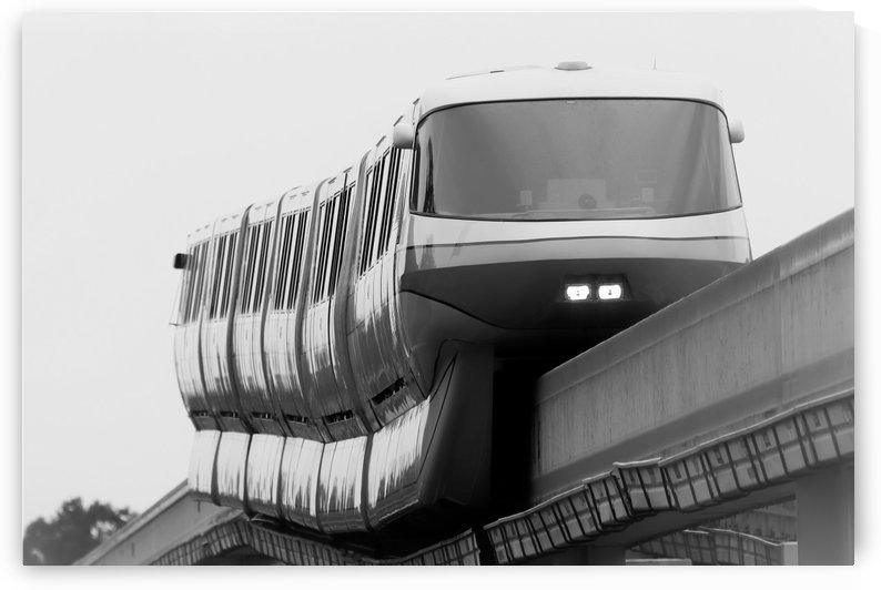 Walt Disney World Monorail by Justin Pistone