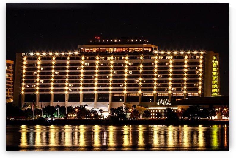 Disneys Contemporary Resort by Justin Pistone