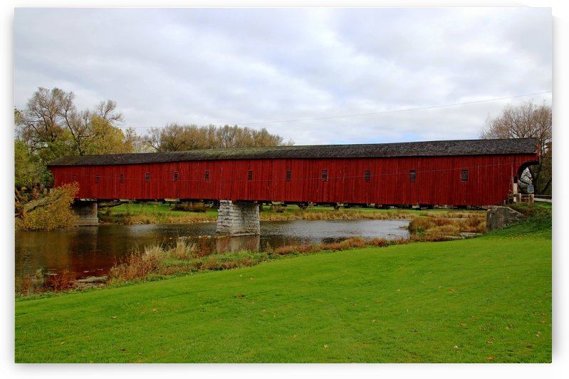 West Montrose Covered Bridge by Deb Oppermann