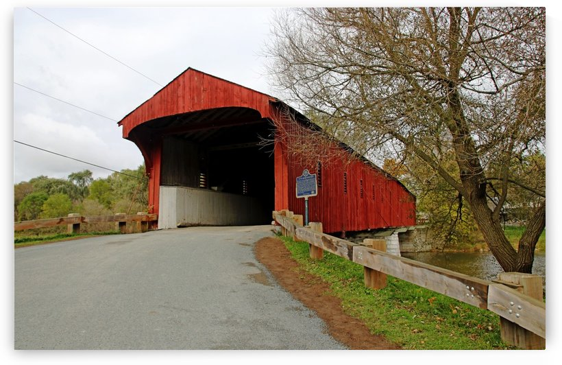 West Montrose Covered Bridge I by Deb Oppermann