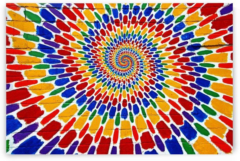 Psychedelic Swirl by Deb Oppermann