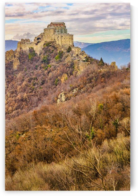 San Michele Sacra Abbey at Pichiriano Mountain by Daniel Ferreia Leites Ciccarino