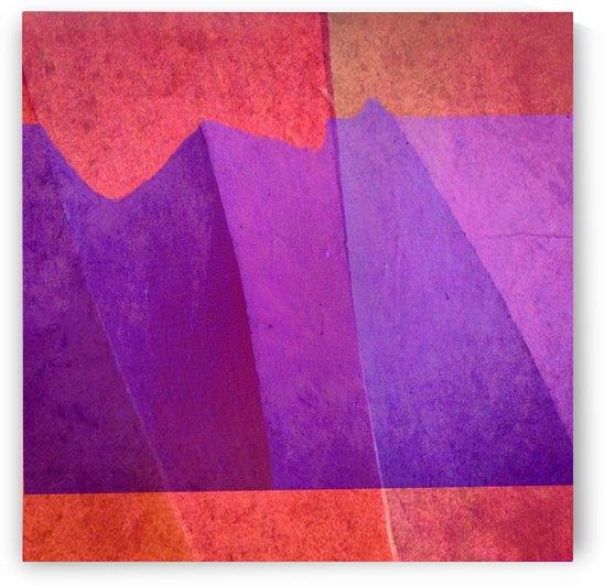 Purple Peaks by Mirella Pavesi