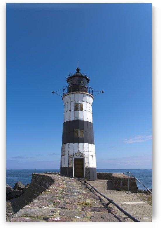Lighthouse Maasholm by Kirsten Warner
