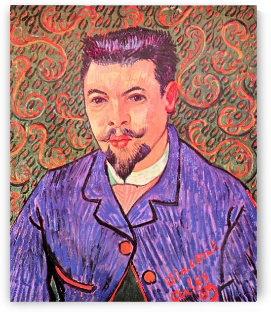Portrait of Dr. Rey by Van Gogh by Van Gogh