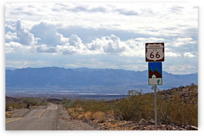 Arizona Route 66 Historical by Deb Colombo