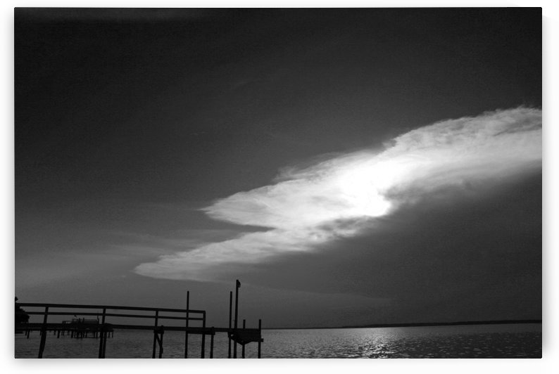 BW Stunning CLoud Sunset by Deb Colombo