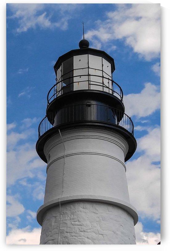 Portland Maine Headlight by Randall Ledbetter