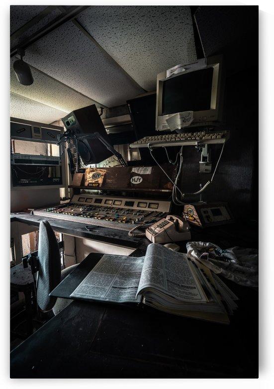 Abandoned Radio Station by Steve Ronin