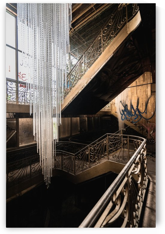 Abandoned Synagogue Icicle Chandelier by Steve Ronin
