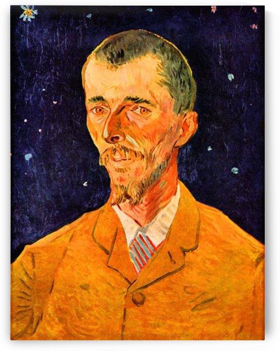 Portrait of Eugene Boch by Van Gogh by Van Gogh