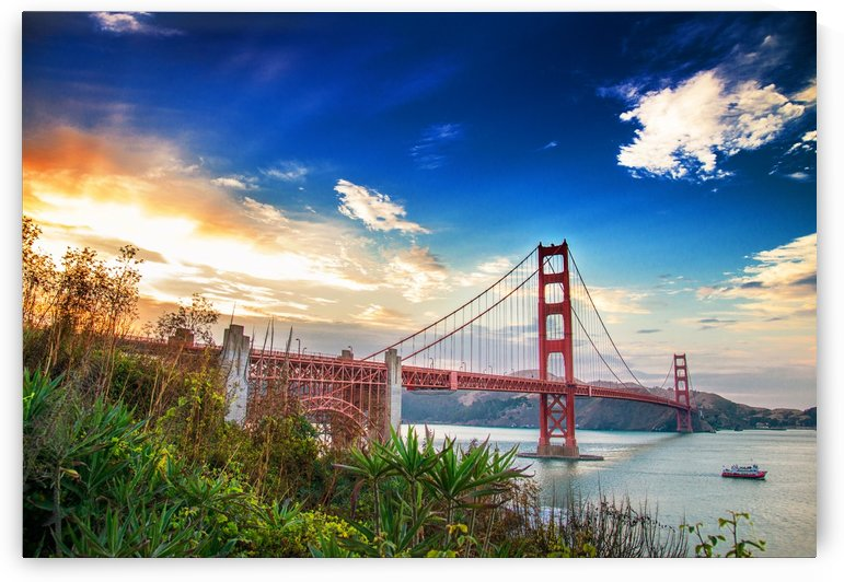 Golden Gate Bridge by Billy Johnson