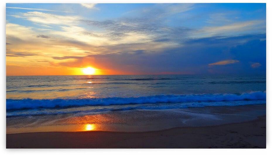 Ocean Sunrise by Richard D. Jungst