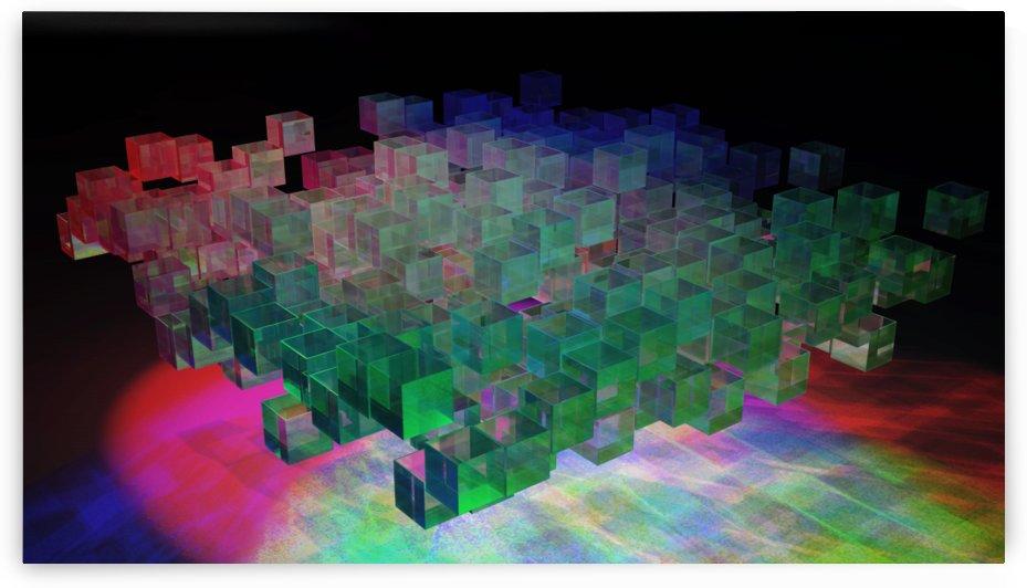 cubes III by Angelo A Keene