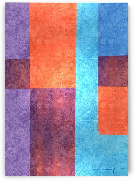Abstract Geometric Space 3 by PS Neena
