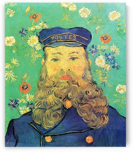Portrait of Joseph Roulin by Van Gogh by Van Gogh