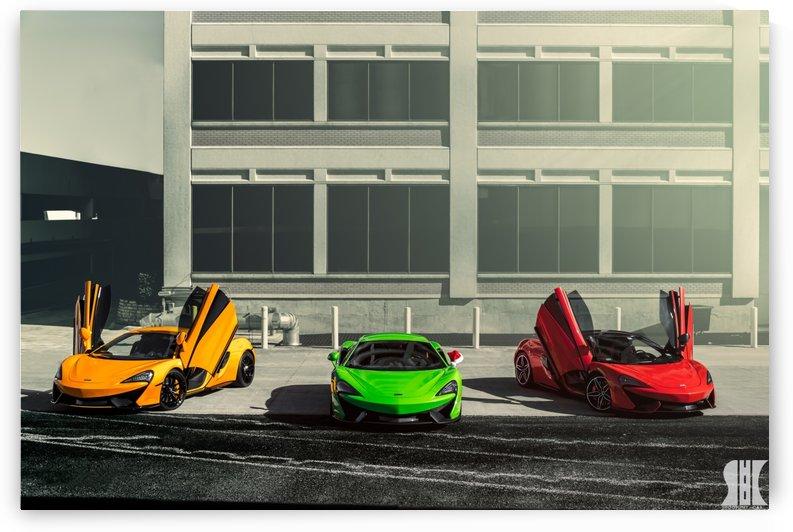 McLaren Trio by Trevor Spiker