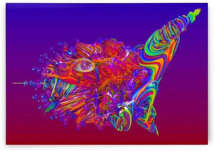 Alien Sea Creature by Matthew Lacey
