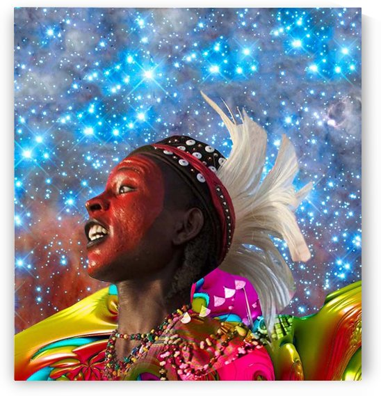 African Star Dreamer by Matthew Lacey