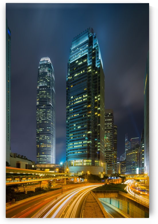 HONG KONG 25 by Tom Uhlenberg