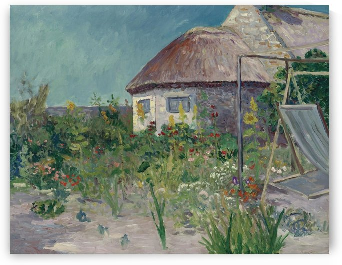 The Studio and the Artist's House at Kervaudu by Maxime Maufra