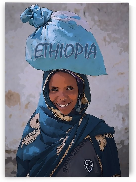 Ethiopian women by Anbessa Graphics