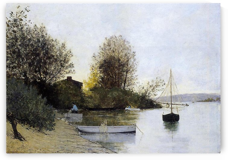 The Bank of the Loire by Maxime Maufra
