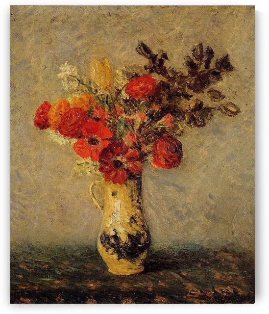 Flowers of Autumn by Maxime Maufra