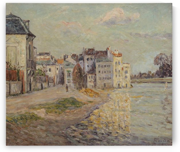 The Flood by Maxime Maufra