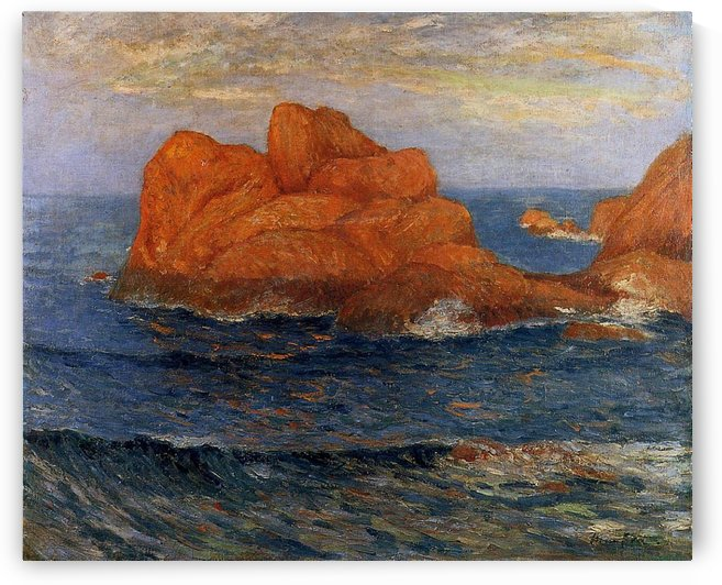 Red Rocks by Maxime Maufra