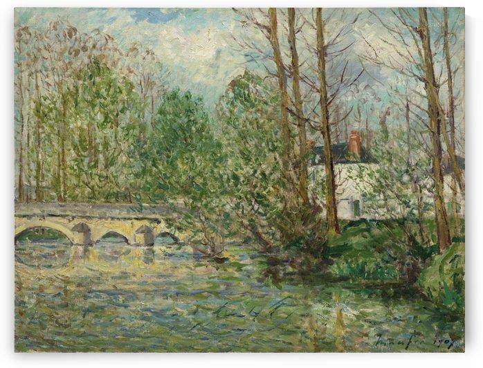 Spring Landscape at Lavardin, Loir-et-Cher by Maxime Maufra
