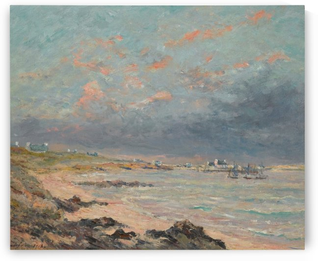 Storm at Kerhostin by Maxime Maufra