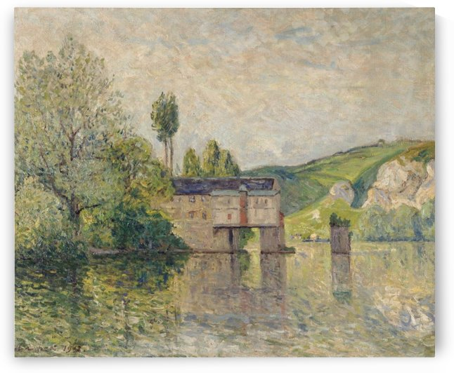 The Watermill, Les Andelys by Maxime Maufra