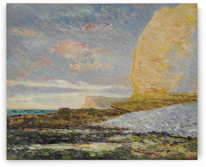 Seashore at Yport by Maxime Maufra