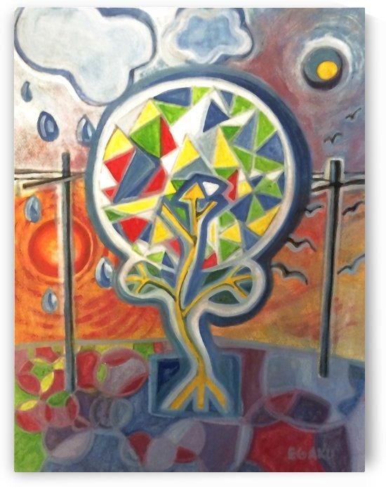 PEACE TREE by JAMES EGAKU