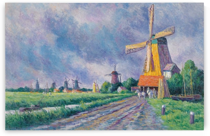 Outskirts of Rotterdam by Maximilien Luce
